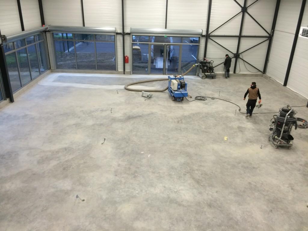 travaux avant le revêtement de sol